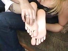 Foot tickling orgasm 2