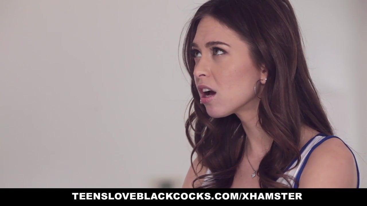 Tights pussy gets black clocks, public handjob video
