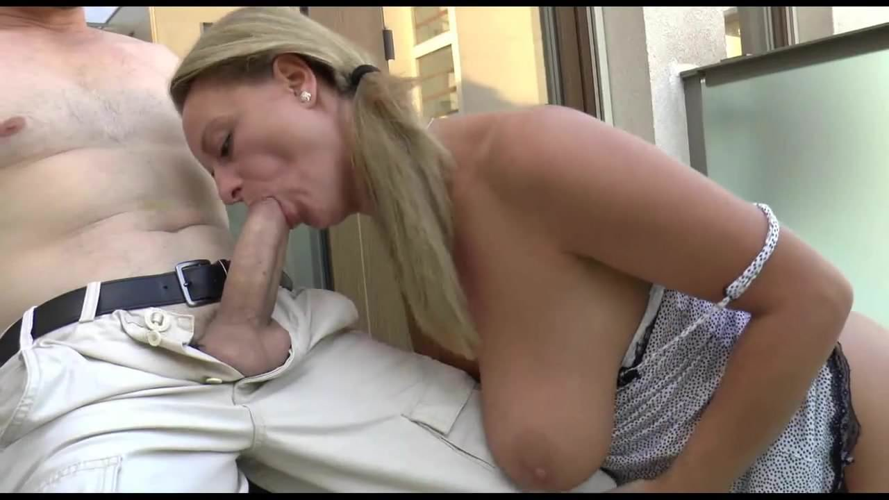 Big hanging tits sucking cock consider