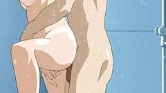 Hentai Shower Scene Anal