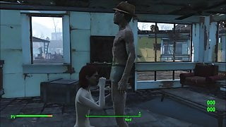 Fallout 4 Katsu sex adventure chap.6 Cat