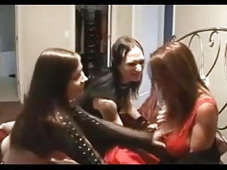 Heavy metal guy,Emo girl & Milf