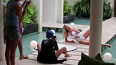 Genevieve Morton - World Swimsuit 2016 photoshoot