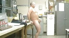 daddy at work