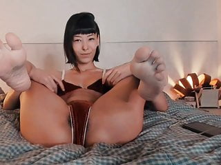 Feet In Face Asian Feet Reverse Cowgirl Feet No Sound