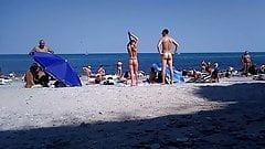 nude teen in the nude beach