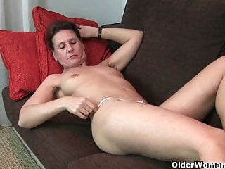 Grandma S Hairy Pussy Gets The Finger Treatment