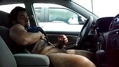 Hairy Car Cum.flv