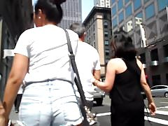 BootyCruise: Downtown Booty Shorts Cam