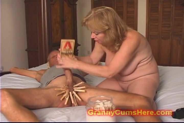 Mean Granny Makes Him Bitch, Free New Granny Tube Porn Video-5621