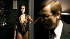 Maggie Q Tits Scene from 'Deception' On ScandalPlanet.Com