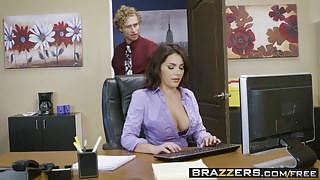 Brazzers - Big Tits at Work - All Natural Intern scene starr