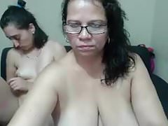 Mature BBW With Teen Whore