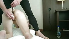 Alex Spanks : 50yr Old Sub Slut Spanked & 1st Time Anal Play