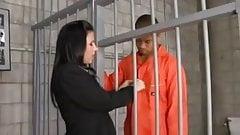 Public Defender fucks inmate...creampie!