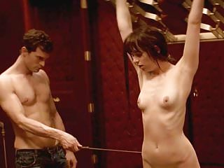 Dakota Johnson Topless Whipping Scene On ScandalPlanetCom