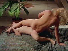 Hairy bush lesbians finger, lick, and trib with abandon