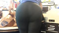 Sexy Ass BBW Cashier VPL