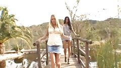 Riley Evans & Kayla Carrera