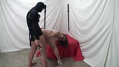 Lesbian Ninja Having Her Way With a PAWG