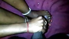 ebony teen feet