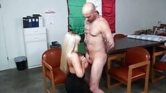 Office Milf slut