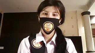 Thai student live on facebook