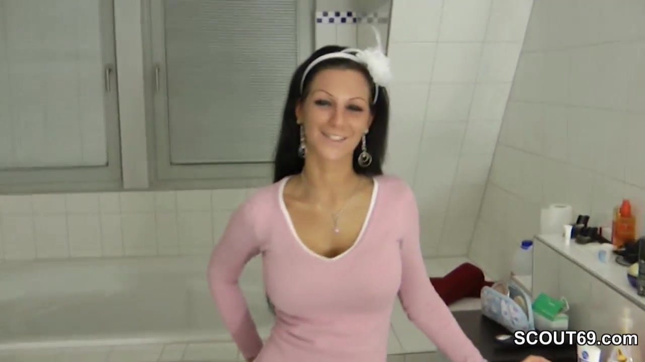Step-Sister Helps German Not Step-Brother With Handjob-5493
