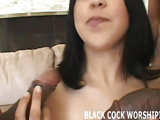 You can watch while I milk two big black cocks
