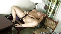 An older woman means fun part 300
