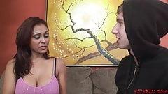 MILF Priya Rai getting young cock