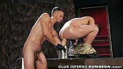 ClubInfernoDungeon Kinky Military DILF Extremely Fisted