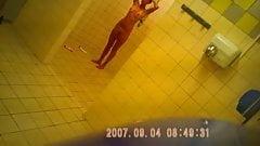 teen in shower after sport hidden cam sazz