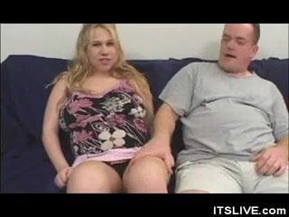 Stripped Preggio Babe Cock Sucks