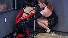 Latex bondage fetish