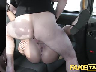 Preview 5 of Fake Taxi Stunning Romanian with perfect tits gets a facial