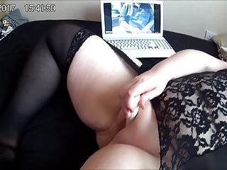 fingering my tight pussy