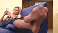 Smelly Nylonfeet