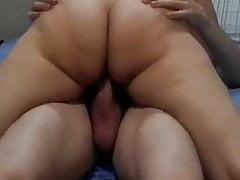 Big ass girl fucking sex friend