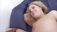 Blonde Curly Busty Interracial Fucked By Big Black Cock