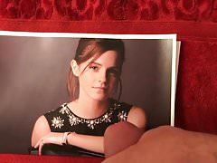 Emma Watson takes a hot Sticky ccum facial