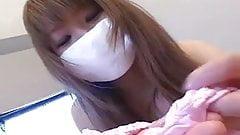 Japanese masked girl