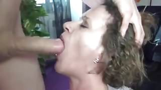 Mature female fucked hard by a young hard dick