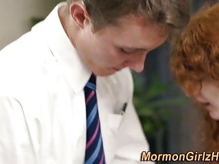 Preview 2 of Redheaded mormon banged