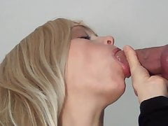 amazing gloryhole blowjob by a beautiful woman
