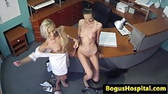 Tattooed european patient fingered by hot doc