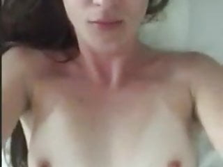 girl selfie playing for bf