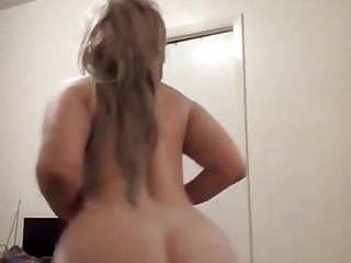 Dirty Talk Booty Twerk Show Sexy Blonde