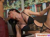 Tranny Talyta Rios Gets Stuffed Hard