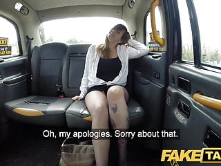 Fake Taxi Busty Passenger Gives Good Tit Wank And Rides